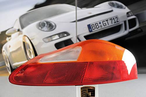 Producto nuevo. Porsche 986 Boxster - Luz trasera para bicicleta, color rojo y amarillo