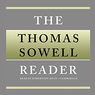 The Thomas Sowell Reader audiobook cover art