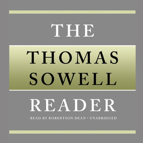 Page de couverture de The Thomas Sowell Reader
