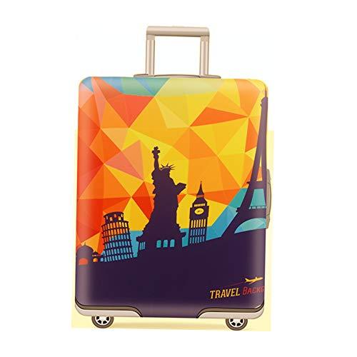 Passend für 48,3-81,3 cm Gepäck Abdeckung Reisekoffer Schutz Elastische Koffer Abdeckung waschbar Gepäck Anti-Kratzer Stretch Schutz