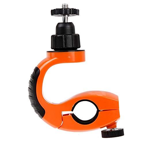 Ianxianrixiangjingujianxia Xiaoyi Sport Kameras (orange), 360-Grad-Kreisel Steht Sport Fahrradlenkerhalterung for GoPro Hero New / HERO6 / 5 Sitzungs- / 5/4 Session / 4/3 + / 3/2/1