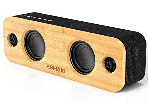 AOMAIS Life Bluetooth Speaker with 2 Woofers
