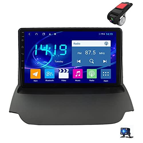 9'Android 10 Navegación GPS Car Stereo DIN Radio Reproductor De Video Multimedia para Ford Ecosport 2013-2017 Soporte Bluetooth Control del Volante USB WiFi FHD Dash C(Size: 4 Core,Color:WiFi 1G+16G)
