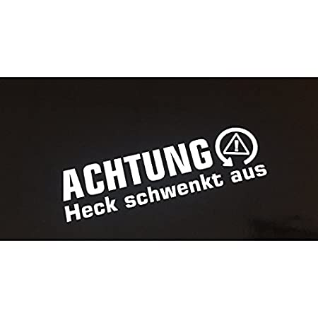 Achtung Heck Schwenkt Shocker Auto Aufkleber Jdm Tuning Winter Drift Dapper Auto