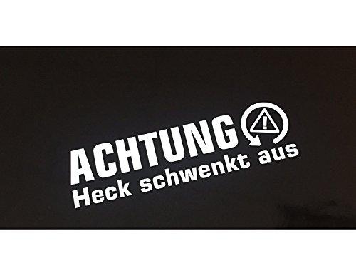 Achtung Heck Schwenkt Shocker Auto Aufkleber JDM Tuning winter Drift dapper
