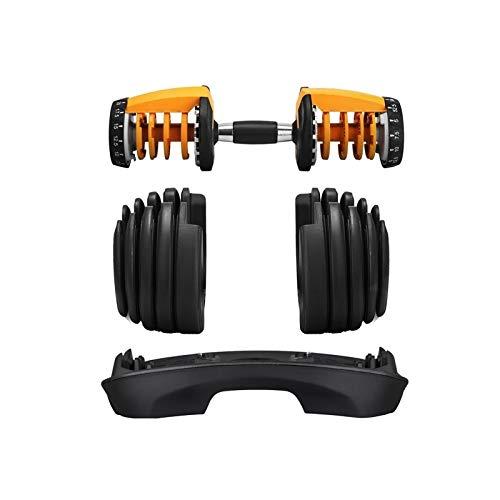ZEL Juego de Pesas de Pesas Ajustable Equipo de Fitness avanzado Versión de actualización Capacitación en casa Herramienta Muscular del Brazo 52.5 Libras 1.22