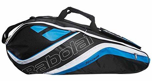 Babolat Schlägertasche Racket Holder X12 Team Line Blue, blau, 76 x 45 x 32 cm, 109 Liter
