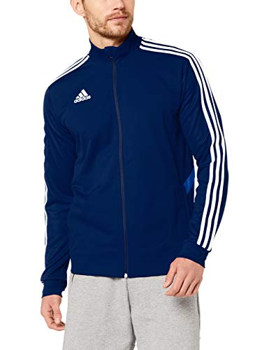 adidas Herren TIRO19 TR JKT Sport Jacket, Dark Blue/Bold Blue/White, M