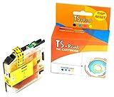 TS-Print Cartucho de Tinta Compatible para Brother LC-221Y LC-223Y XL 10ml Amarillo Yellow
