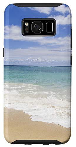 Galaxy S8 Blue Ocean Beach Hawaii Gift Tropical Summer Aesthetic Phone Case