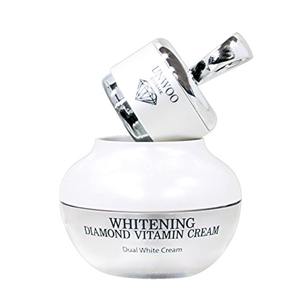 レタス憂鬱ガソリンWhitening Diamond Vitamin Cream
