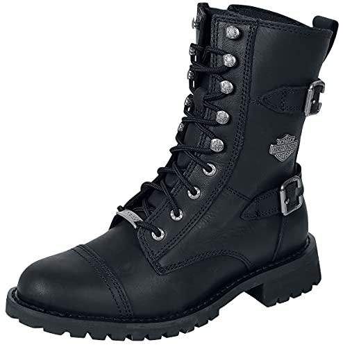 Harley-Davidson Balsa Frauen Boot schwarz EU41 Leder Biker, Casual Wear, Rockwear, Streetwear