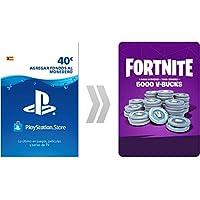 PSN Credito para Fortnite  5000 V-Bucks | Código de descarga PS4 - Cuenta española