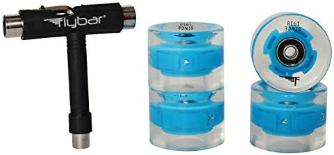 Flybar Skate Accessories 4 Pack LED Wheels Multiple Colors Blue 4 Pack LED Wheels product image