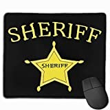 Sheriff Rectangular Non-Slip Rubber Mouse Pad 2530