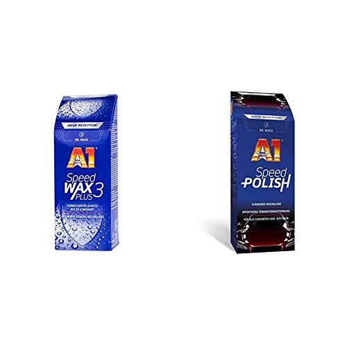 Dr. Wack - A1 Speed Wax Plus 3, 500 ml (#2630) & A1 Speed Polish, 500 ml (#2610)