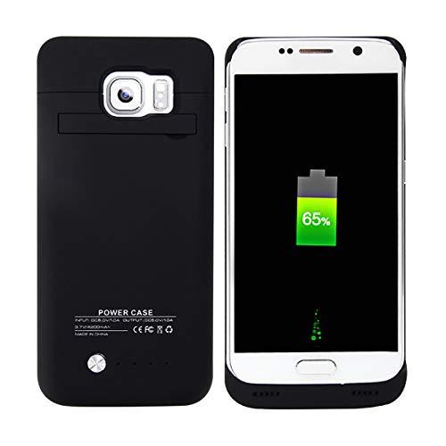 BasicStock Funda Batería Samsung Galaxy S6, 4800mAh Batería Externa...