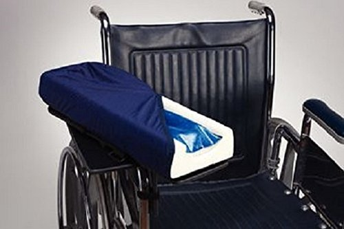 Skil-Care Mobile Armrest Gel Foam, Level, Left - Model 553000 by Skil-Care