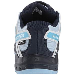 Salomon Kids' XA Pro 3D CSWP J Trail Running Shoes, Cashmere Blue/Illusion Blue/CYAN BLUE, 2