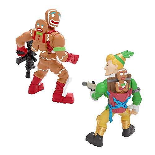 Fortnite 63568 2 x Battle Royale Collection Figuren – Codename Elf & Merry Marauder