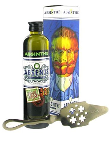 ABSENTE 55º GIFT BOX and SPOON - 10cl