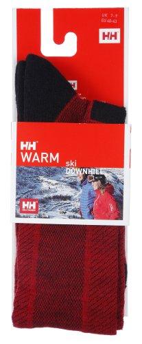Helly Hansen Socken Downhill, Herren, schwarz / rot, UK: Talla 3-6
