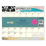 2021 Magnetic Refrigerator Calendar Wall Calendar Pad by Bright Day, 16 Month 8 x 10 Inch… (Abstract Art)