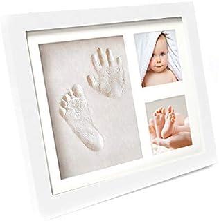 Baby Geschenkset Taufgeschenk mit Bilderrahmen 2 Dosen und Röhre Geburtsurkunde