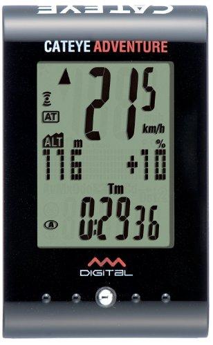 Cateye Adventure - Ordenador para ciclismo, color negro
