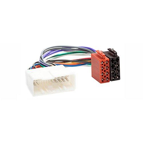 CARAV 12–014 Adaptateur radio ISO pour Hyundai 2004 + (Certains modèles)/Kia 2004 + (Certains modèles) Câblage fil Harnais connecteur Laisse Loom Câble adaptateur prise stéréo