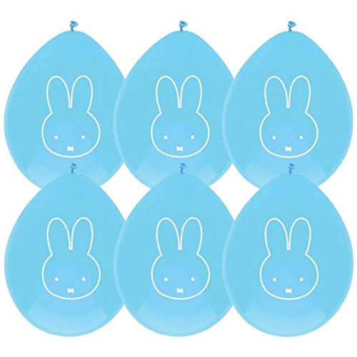boland ballonnen Nijntje Blauw, 6st, gesorteerd