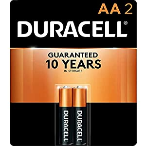 Duracell AA Batteries: The Duracell CopperTop Double A alkaline battery is designed for use in household items like remotes, toys, and more. Duracell guarantees these batteries against defects in material and workmanship. Should any device be damaged...