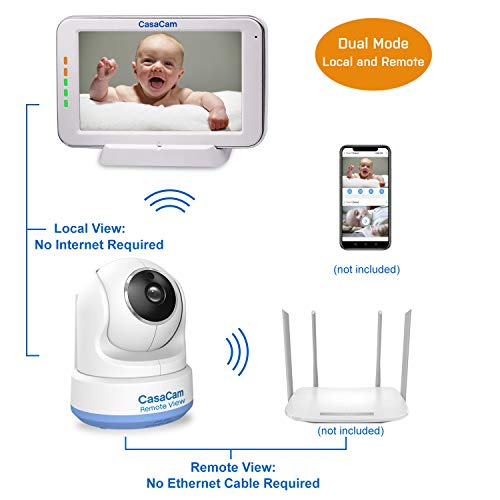 41nAdP65fuL 12 Best Baby Monitors Under $150–$200 Review [Updated 2021]