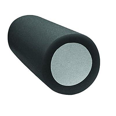"CanDo 30-2390 2-Layer Round Foam Roller, 6"" x 30"", X-Soft, Yellow"