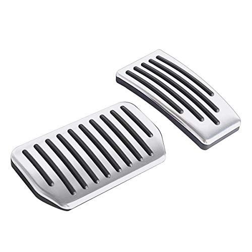 Topfit Model S Model X Auto-Pedalauflagen Bremspedalauflagen aus Aluminiumlegierung Leistungspedale für Model S und Model X