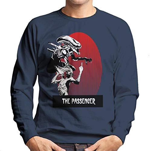 The Passenger Red Alien Iggy Pop heren sweatshirt