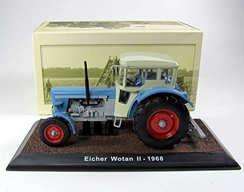 Modell Traktor 1:32 Eicher Wotan II 1968 hellblau/hellgrau Atlas 7517015