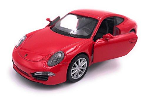 H-Customs Porsche 911 Carrera S Modelauto auto gelicentieerd product 1:34 willekeurige kleurkeuze