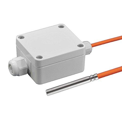 Temperaturfühler Aktiv mit Messumformer 0-10V / 4-20mA 2.0 Meter Silikonleitung