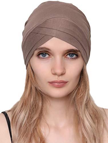 Deresina Headwear Deresina W Baumwollmütze für Chemo (Mink)