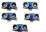 JVJ 5X HC-SR04 Entfernung Messumformer Sensor Ultraschall-Modul für Raspberry Pi und Arduino -
