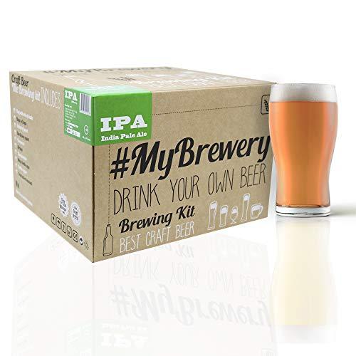 Kit per fermentazione birra artigianale | Ricetta IPA | 5 litri | Malto macinato e luppolo fresco | La tua birra a casa