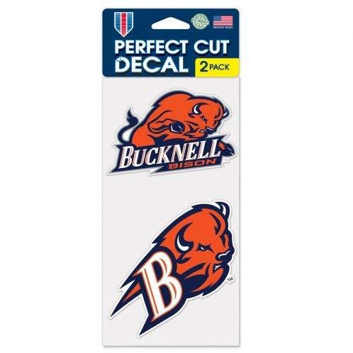 Wincraft Snack-Schale Bucknell Hockey Club Neuilly Set von 2Die Cut Decals (10,2x 10,2cm EA)