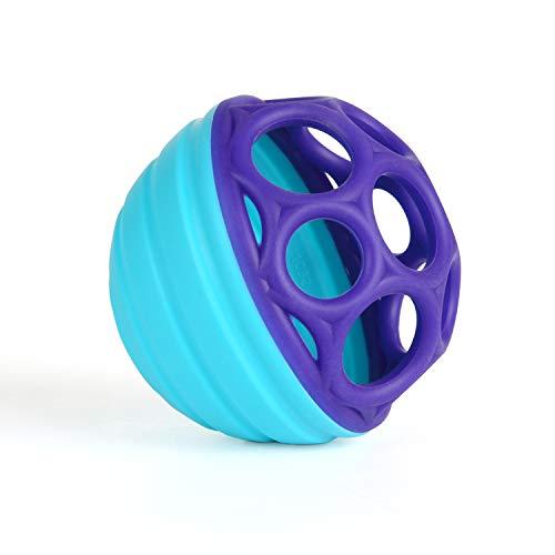 Oball Balle flexible à relier Petit format jeu d'éveil bébé, bleu