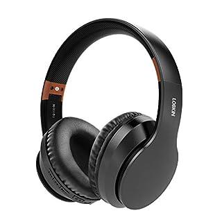 Auriculares inalámbricos LOBKIN, micrófono incorporado manos libres Bluetooth 5.0 sobre la oreja, sonido estéreo de alta fidelidad Reducción de ruido