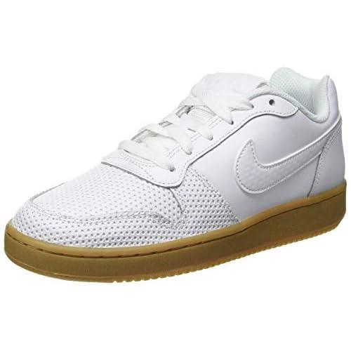 Nike Ebernon Low Premium, Scarpe da Basket Donna, Multicolore (White/White/Gum Light Brown 101), 36 EU