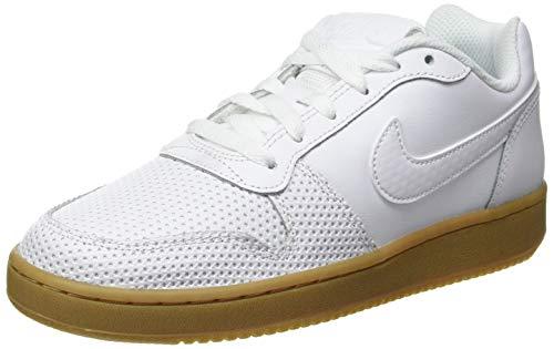 Nike Ebernon Low Premium, Zapatillas de Baloncesto Mujer, Multicolor (White/White-Gum Light Brown...