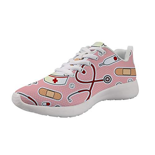 Showudesigns Zapatillas de Running Adulto Zapatos De Trabajo Senderismo Zapatillas de Running...