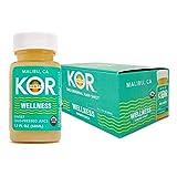 KOR Shots Ginger Shot - 12 Pack x 1.7 Fl Oz - Wellness Shot - Freshly...