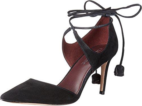 COACH Women's Shae Black Lux Suede Pump Size 7.5